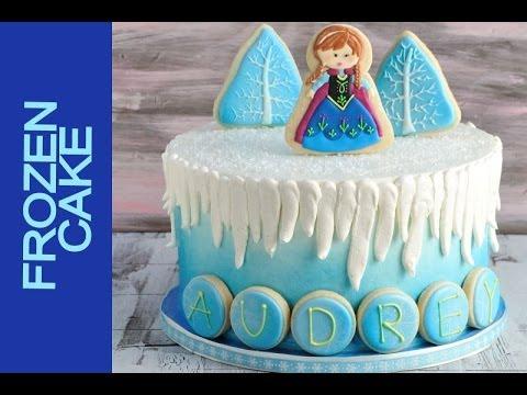 Frozen Cake Tutorial Youtube