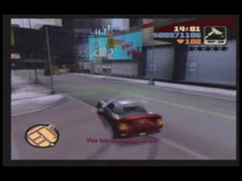 Grand Theft Auto 3: Mission #29 - Sayonara Salvatore