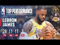 Lagu LeBron James Records His First Triple-Double With the Lakers  October 25, 2018