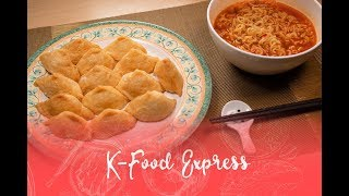 Yubuchobap 유뷰초밥 (Fried Tofu Rice Balls) and Ramen Combo