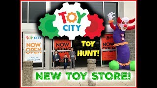 TOY CITY Toy Hunt!!! NEW TOY STORE 2018! #toycity #halloweencity