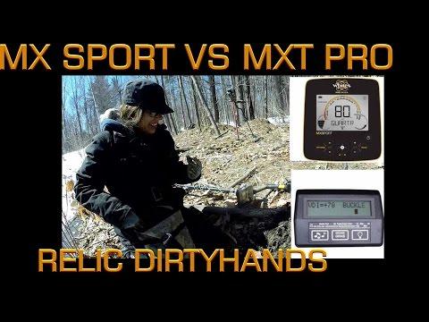 MX Sport Metal Detector VS MXT Pro Silver, Copper coins and relics