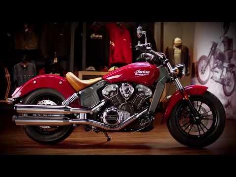 """Polaris Indian """"Scout"""" Motorcycle"""