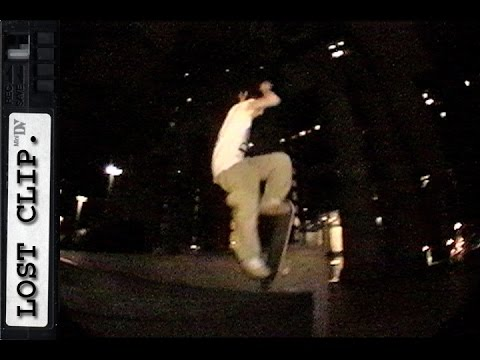 Tim O'Connor Lost & Found Skateboarding Clip #154