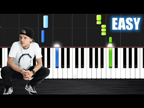 Avicii  Waiting For Love  EASY Piano Tutorial  PlutaX  Synthesia