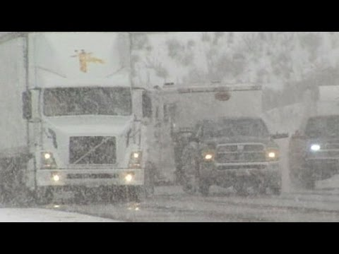 Southern California Faces Big Snowstorm