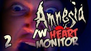 HEARTBEAT SENSOR GOES CRAZY - Amnesia: Custom Story: FEAR AMNESIA - Part 2 (Final)