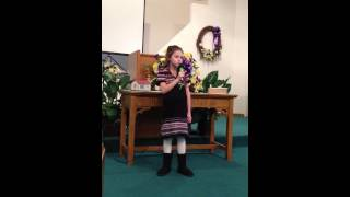 Between Twelve & Thirty-Three , Sung by Lilyona Rose Anderson