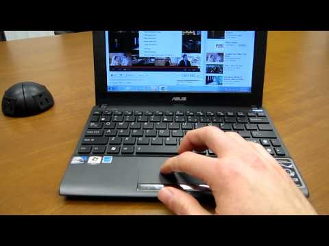 Asus Eee PC Flare 1025C / X101CH Video Tour