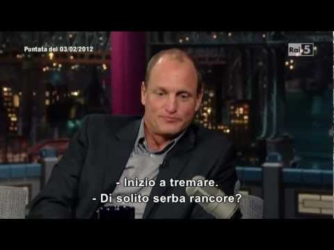 Woody Harrelson al David Letterman