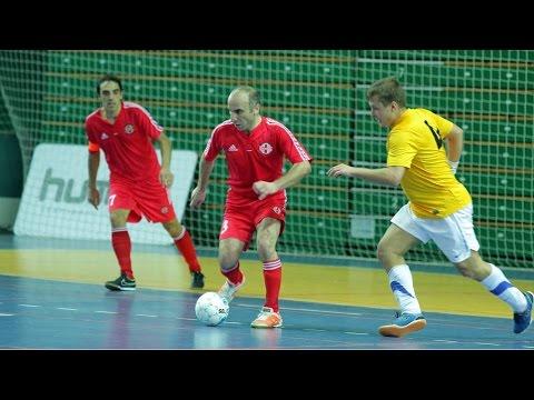 Šveicarija 1:1 Gruzija: (UEFA Futsal 2016 atranka, rungtynės; 2015-01-15)