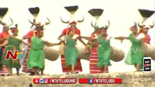 Telangana Culture and Folk Arts Performance At Golconda Fort | #72ndIndependenceDay | NTV