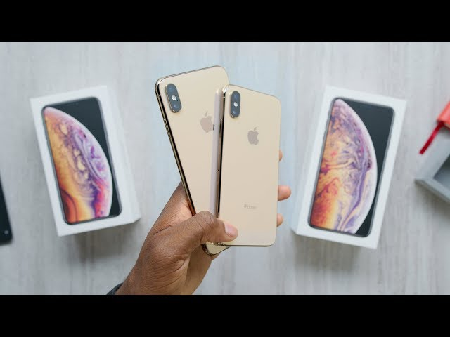 Gold iPhone Xs Max Unboxing!