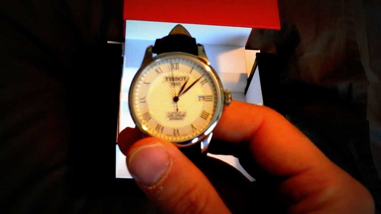 Tissot le Locle Silver Dial New Tissot le Locle Watch