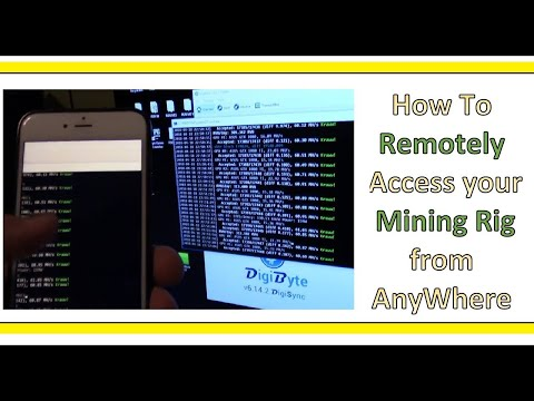 How to Remotely Access your CryptoCurrency Mining Rig From Anywhere and On the Go
