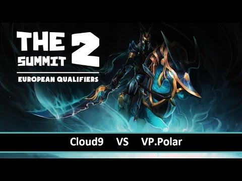 [ Dota2 ] Cloud9 vs VP.Polar - The Summit 2 Europe - Thai Caster