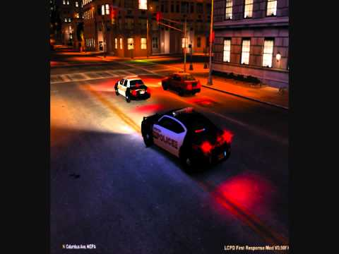 GTA IV Paterson police dodge charger