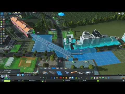 Cities: Skyline Ep 4 Wake Harbor - with Presidential Debate Audio!