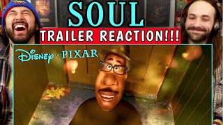 SOUL | Teaser TRAILER - REACTION!!! (Pixar)