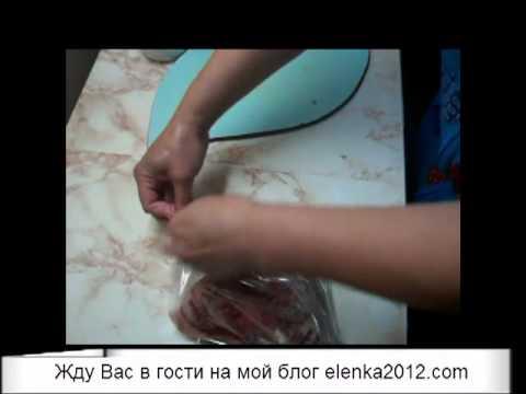 Как приготовить щековину - видео