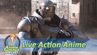 Watching Anime in Live Action: The Movie - Anime Podcast