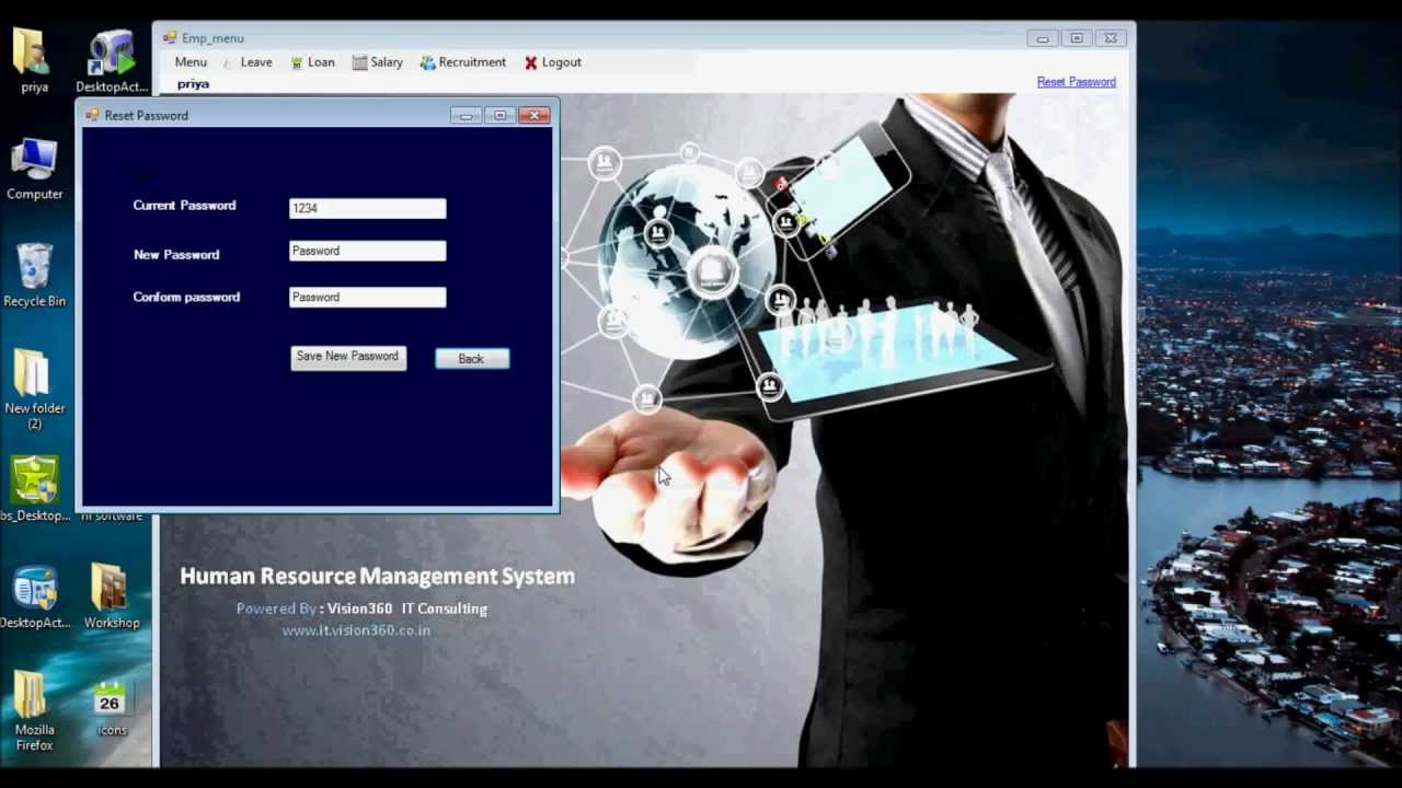 hrms human resource management system
