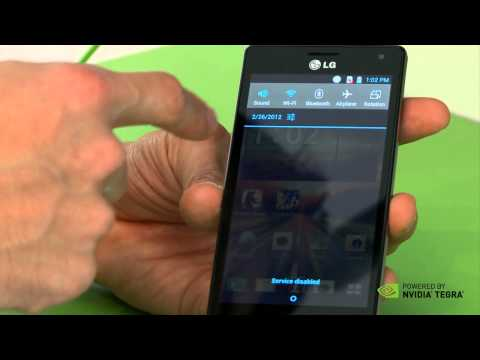 Hands-on preview of the LG Optimus 4X HD with Tegra