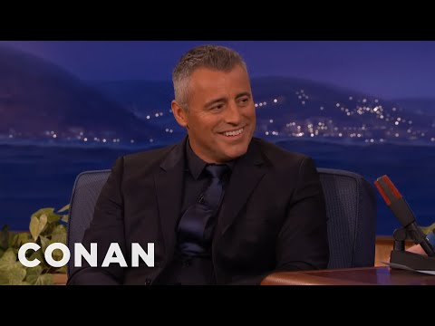 Matt LeBlanc Told Off Prince William & Prince Harry  - CONAN on TBS