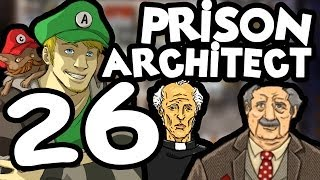 Prison Architect - Part 26 [Alpha 18] Moving things around