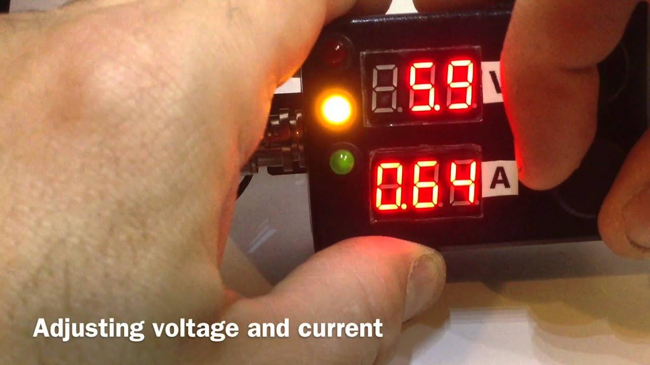 Mini Diy 3a Adjustable Power Supply Adjust Voltage And