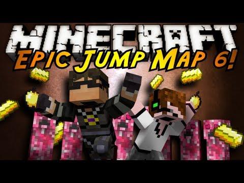 Minecraft: Epic Jump Map Valentines Part 1!
