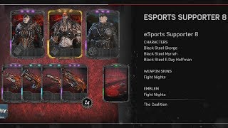 Supporting eSports! Supporter Pack #8 (1 Pack Opening) [Gears of War 4]