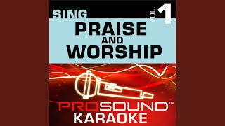 Shout To The Lord Karaoke With Background Vocals In The Style Of Darlene Zechech