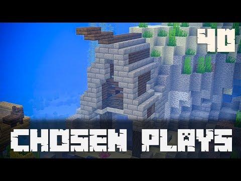 Chosen Plays Minecraft 1.13 Ep. 40 Underwater Building