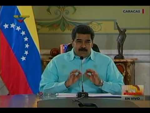 Presidente Nicolás Maduro desde Miraflores, jueves de vivienda, 30 junio 2016