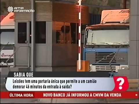 Terminal de contentores no Porto de Leixões - Sabia Que