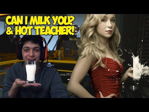 Asking A Hot Girl If I Can Milk Her & Hot Teacher!- life Story (aw Sniping) video