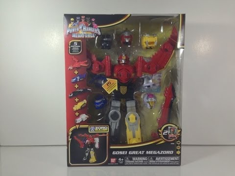 Review: Gosei Great Megazord (Power Rangers Megaforce)