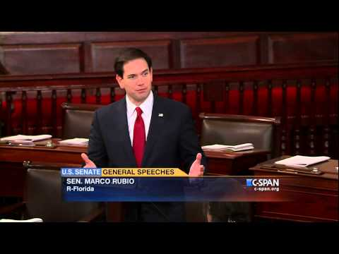Sen. Marco Rubio on Israel (C-SPAN)