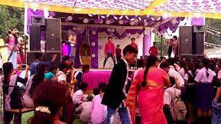 Adarsh higher secondary school balco korba dance video 2017..