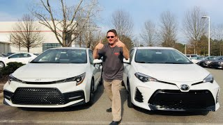 2020 Corolla vs 2019 Corolla: you decide who wins!