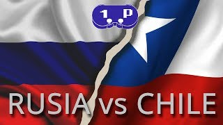 Gameplay: Amistoso internacional Rusia vs Chile