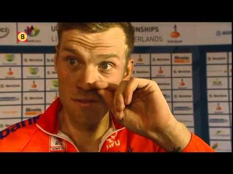 Lars Boom vijfde bij WK wielrennen