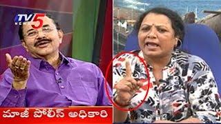 పోలీసులను కడిగిపారేసిన కత్తి పద్మ..! | Katti Padma Slams Police