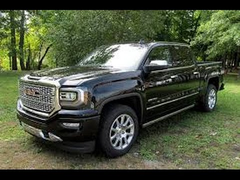 2016 GMC Sierra 1500 Denali (Start Up, In Depth Tour, and Review)
