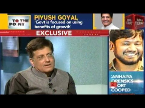 To The Point: Power And Coal Minister Piyush Goyal On The 2016 Union Budget