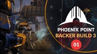 PHOENIX POINT - Backer Build 3 Gameplay |  Geoscape Gameplay, Roster Management, Squad Based Tactics