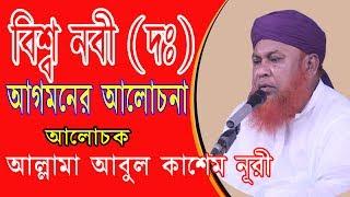 Bangla Waz | বিশ্ব নবী (দঃ) আগমনের আলোচনা |By Allama Abul Kashem Nuri