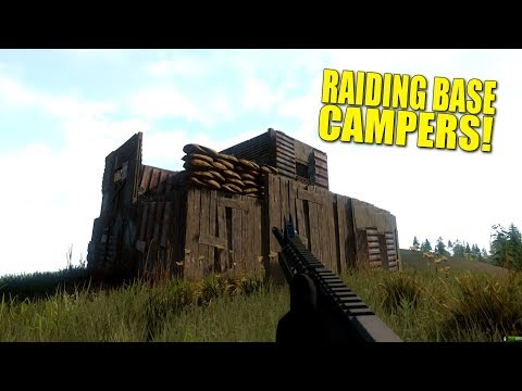 RAIDING BASE CAMPERS! (survival) - Miscreated