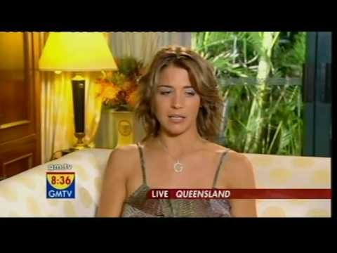 GMTV - Gemma Atkinson out of the jungle (29.11.07)